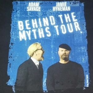 2012 Mythbusters Behind The Myths Tour Shirt
